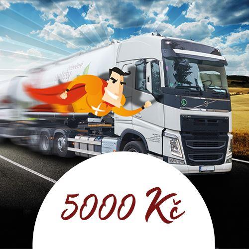 Dárkový poukaz CDP v hodnotě 5000 Kč