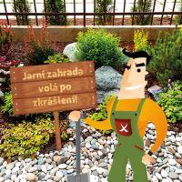 Kámen zahradu krášlí i udržuje
