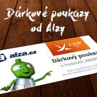 Dárkový poukaz ALZA v hodnotě 2 000 Kč